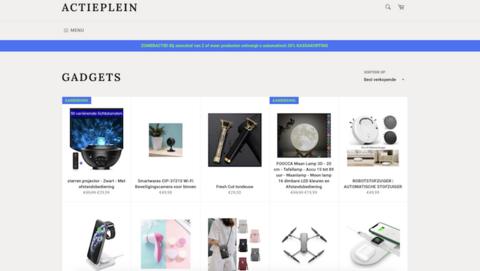 Politie waarschuwt voor foute webshop Actieplein.com