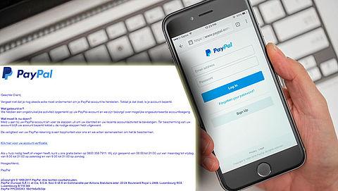 Bericht 'PayPal' is phishingmail