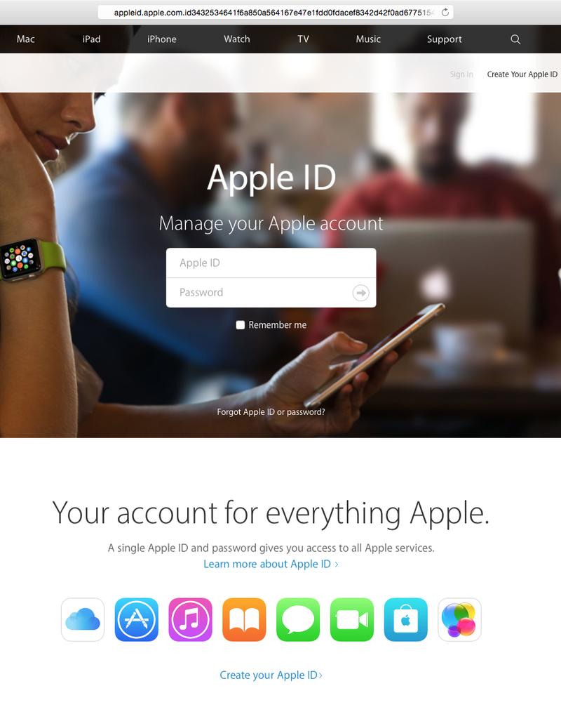 Valse mail 'Apple' is phishing