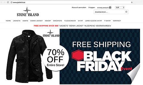 Politie waarschuwt voor webshop 'jacketnl.co'
