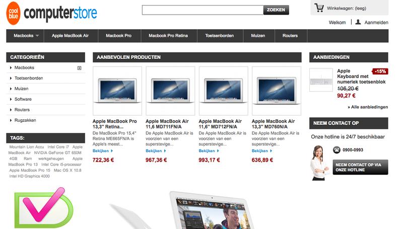 'Macbook-winkel.nl maakt misbruik Kvk-gegevens en logo WebshopKeurmerk'