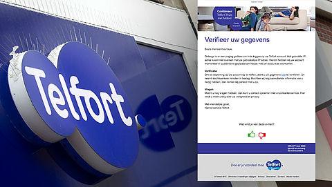 Valse e-mail Telfort: 'Verifieer uw gegevens'