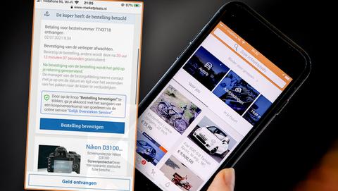 Marktplaats-oplichting 2.0: nieuwe oplichtingstruc op dezelfde valse 'Marktplaats'-website
