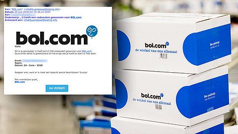 Trap niet in misleidende e-mail 'bol.com'