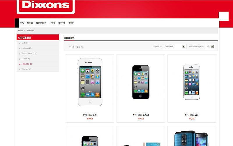 'Dixxons.com maakt misbruik van gegevens bonafide bedrijf'