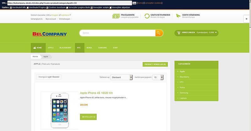'Belcompany-deals.nl maakt misbruik gegevens bonafide bedrijf'