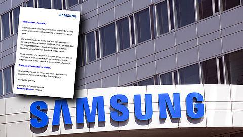 Weer meldingen over valse winactie van 'Samsung'