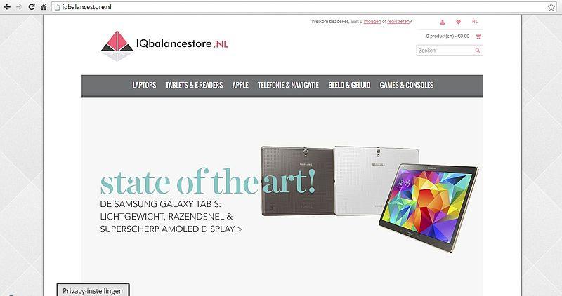 'Iqbalancestore.nl maakt misbruik van KvK-gegevens'