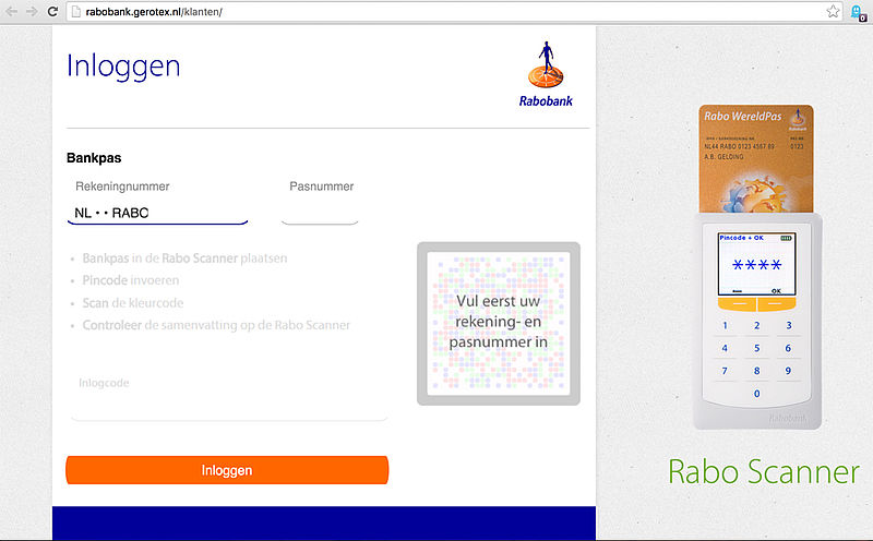 Phishingmail Rabobank: 'bankmail niet geopend'