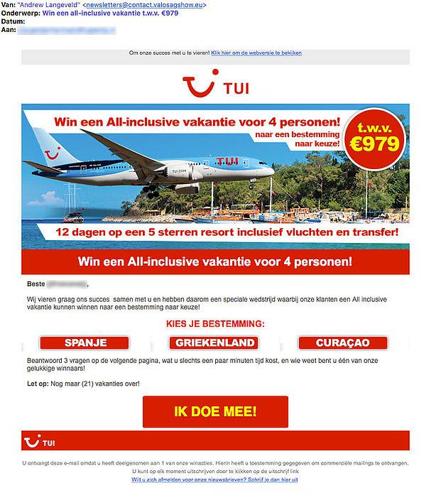 Coolblue Circle: Winactie 'all Inclusive Vakantie' Uit Naam Van TUI Is