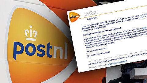 Pas op! E-mail 'PostNL' bevat malware
