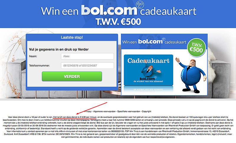 Fraudeurs misbruiken naam Bol.com