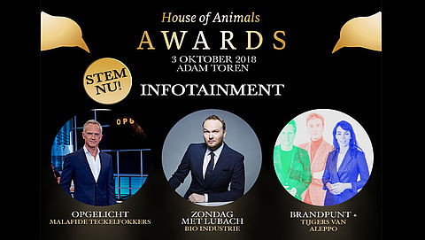 House of Animals Awards: Stem op Opgelicht?!