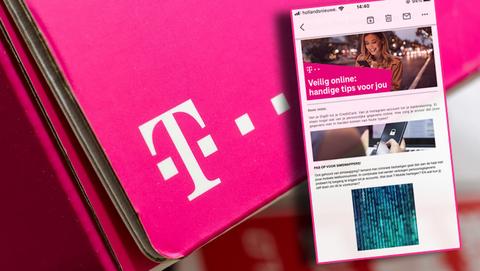 Oplichters sturen phishingmails namens T-Mobile: 'Beveilig je account van T-Mobile'