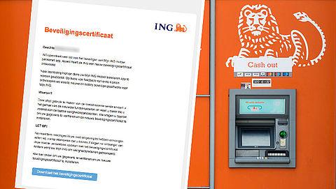 Trap niet in valse e-mail 'ING' over nieuw beveiligingscertificaat