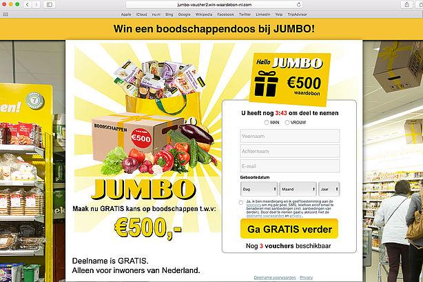 Super Trap niet in valse winactie 'Jumbo' - Opgelicht?! - AVROTROS SH-91