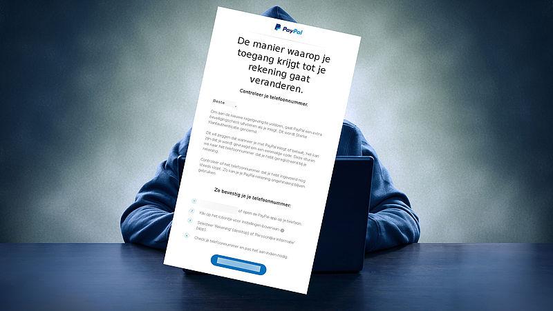 Rectificatie: Mail van 'PayPal' over bevestigen telefoonnummer is vermoedelijk echt