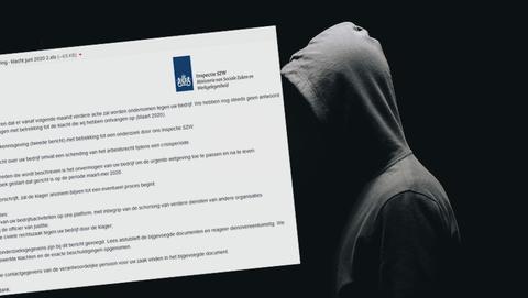 Malware in mail van 'Inspectie SZW' met onderwerp 'Tweede kennisgeving: onderzoek is gestart'