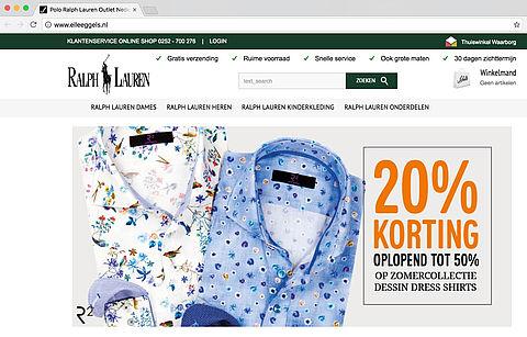 Politie waarschuwt voor de webshop elleeggels.nl