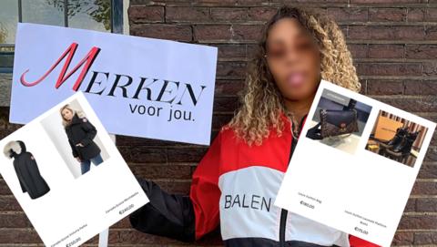 'Merkenvoorjou.nl' is zeer waarschijnlijk een malafide webshop