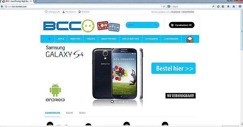 'Bcc-stunters.com is nep'