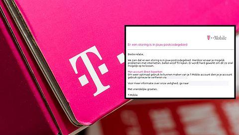 Storing 'T-Mobile'? Pas op voor nepmail van oplichters