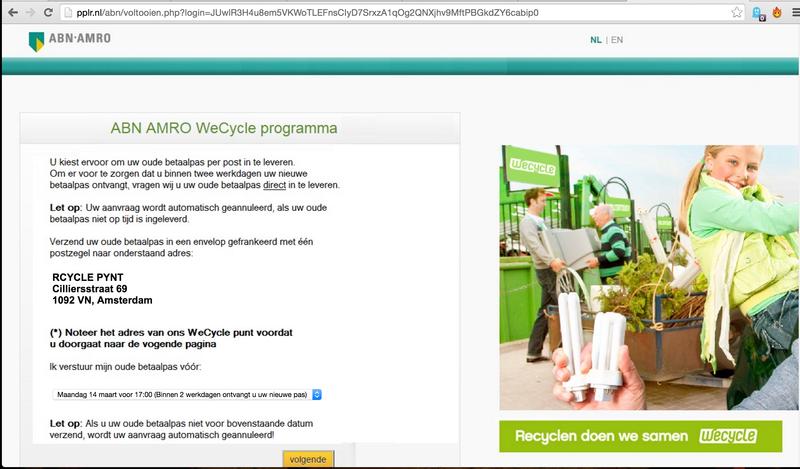 Weer bankpas-phishing e-mail in omloop
