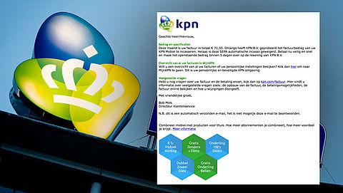 Valse e-mail 'KPN' over openstaande factuur