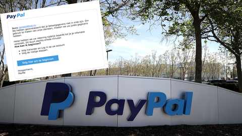 Kijk uit voor valse mail van 'PayPal'