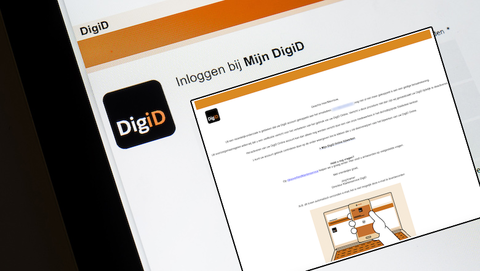 Valse mail van 'DigiD': 'Uw DigiD-account dient geverifieerd te worden!'