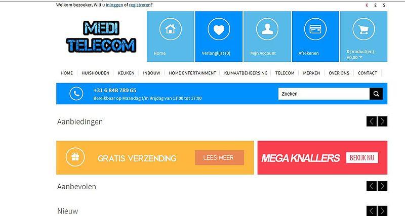 'Medi-telecom.nl maakt misbruik van logo Webshop Keurmerk'