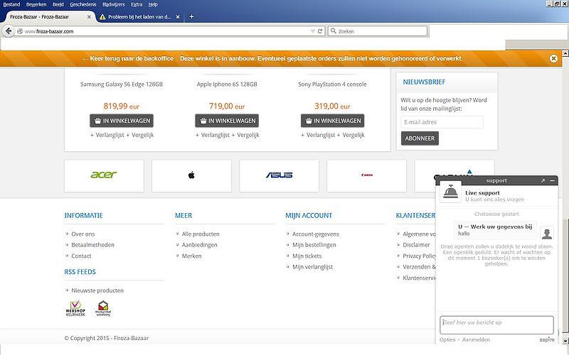 'Pas op voor www.firoza-bazaar.com'