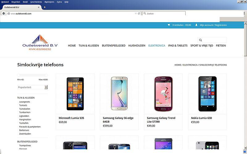 'Doe geen aankopen bij Outletwereld.com'