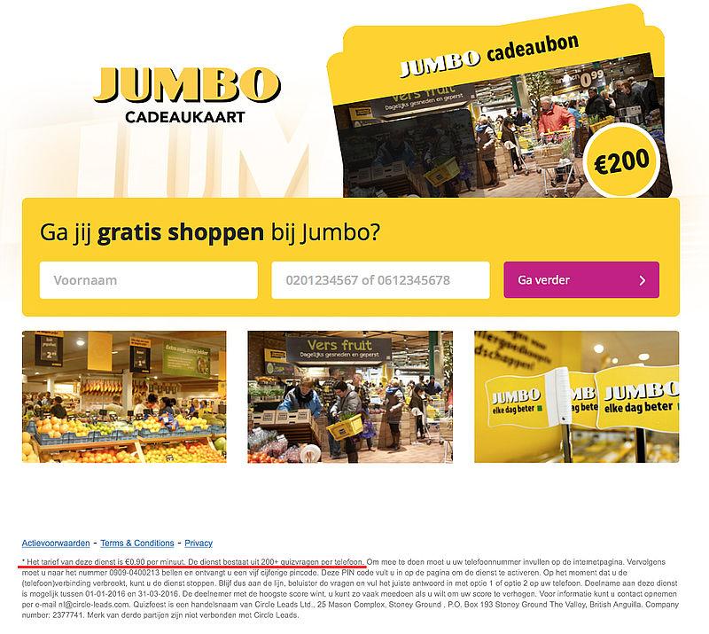 Valse e-mails uit naam van supermarkten