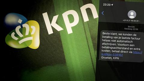 Klant van KPN? Pas op! Oplichters sturen gevaarlijke sms'jes over betalingsachterstanden