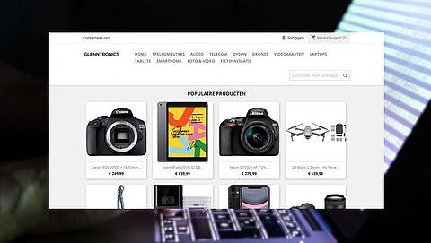 'Te mooi om waar te zijn', bestel niet bij webshop Glenntronics.nl