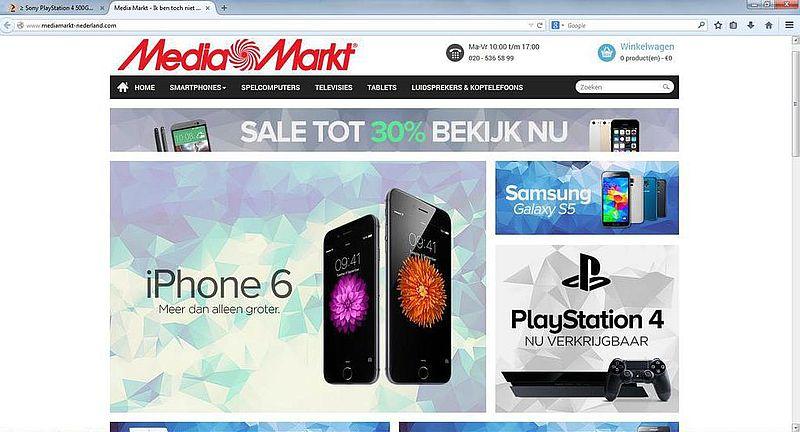 'Mediamarkt-nederland.com adverteert op gehackte Marktplaats-accounts'