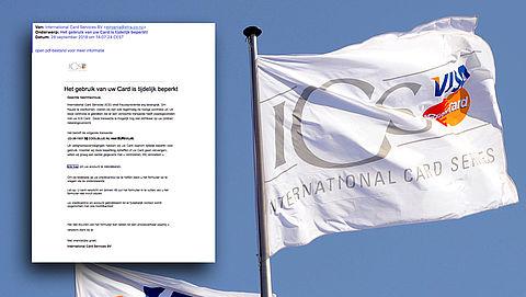 Pas op voor valse mail 'ICS' over accountblokkade