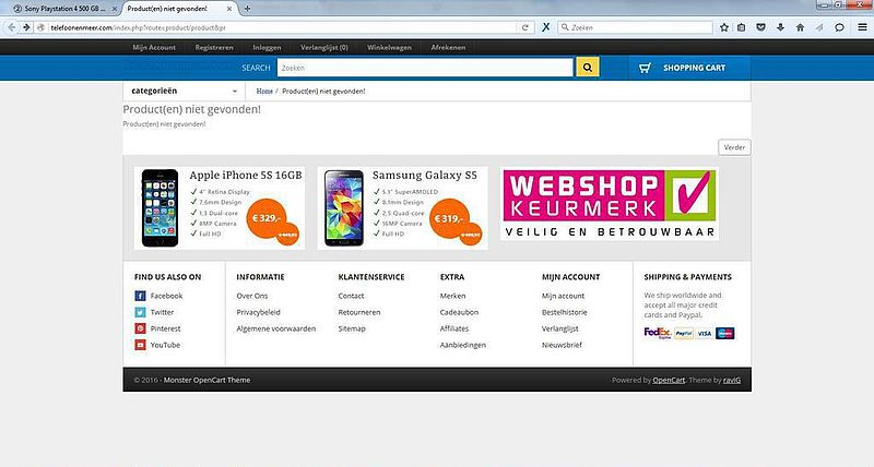 'Doe geen aankopen bij telefoonenmeer.com'