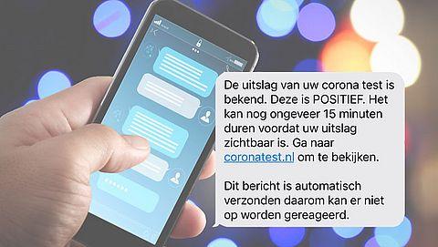Let op: GGD geeft nooit testuitslag via sms