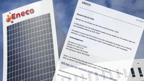 Contractbevestiging namens 'Eneco' bevat schadelijke malware