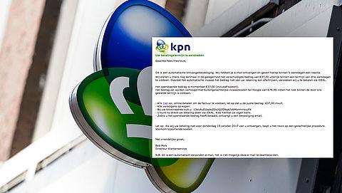 Meldingen over valse e-mail KPN stromen binnen
