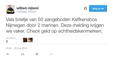 Pas op: vals geld in omloop in Nijmegen