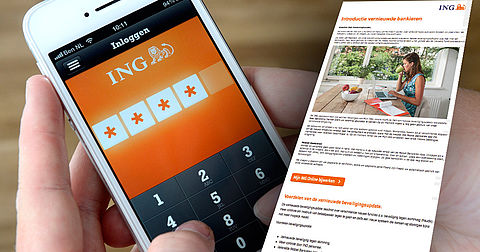 Phishingmail 'ING' over mobiel bankieren