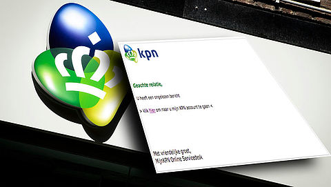 Pas op voor phishingmail 'KPN' over ongelezen bericht