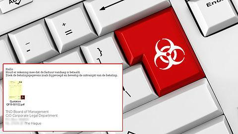Malware verstopt in e-mail 'betaalde factuur'