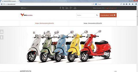'NHJScooters.com maakt misbruik gegevens ander bedrijf'