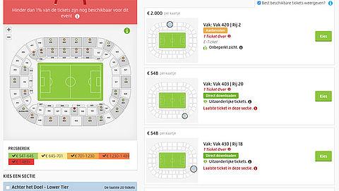 Ajax bezorgd om woekerprijzen Champions League-tickets