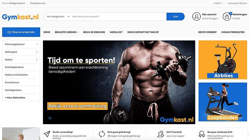 Politie waarschuwt voor Gymkast.nl, dit is een malafide webshop