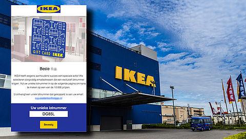 Wees alert! Winactie 'IKEA' blijkt misleiding